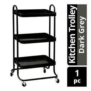 Imported Kitchen Trolley - Dark Grey