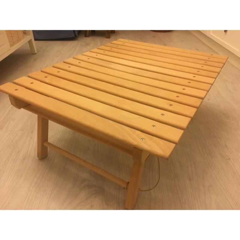 二手嘉隆折疊原木桌