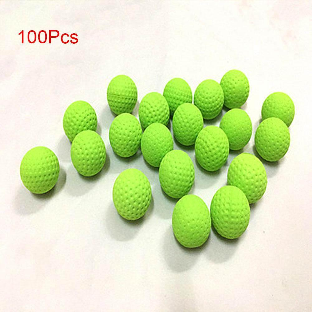 Colorful 100Pcs Balls For Nerf Rival Zeus Apollo Refill Toys Gun Bullet(Green 100)