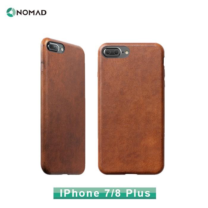 【貝殼拍賣】原廠貨 美國NOMAD X HORWEEN For IPhone 7/ 8Plus專用皮革保護殼(5.5吋)