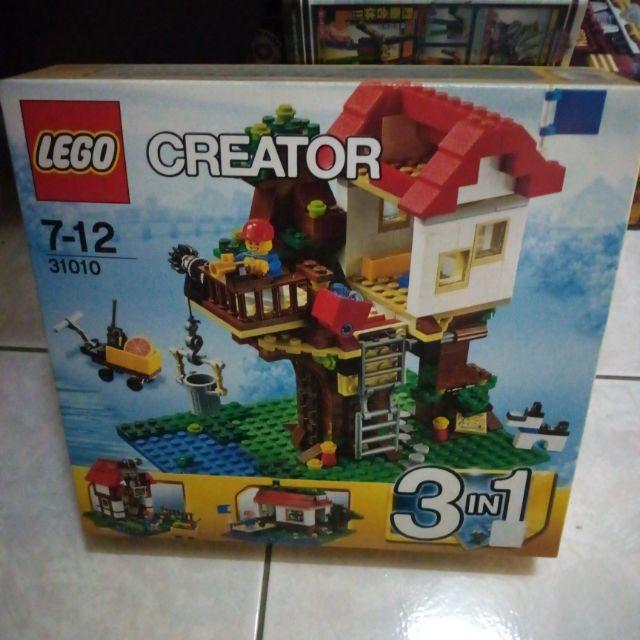 LEGO樂高】3合1創作 CREATOR 系列/31010 樹屋
