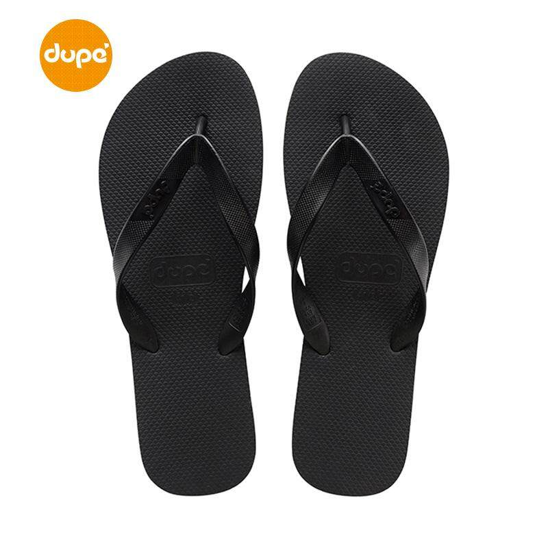Dupe Brazil 2018 Summer CLASSIC Solid Color Flip-flops Men And Women Couples Leisure Flat Beach Sandals