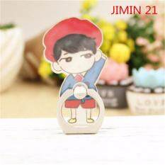 BTS Bangtan Boys JIMIN Case 360 Degree Rotation Phone Ring Finger Buckle Stand Holder Cell Mobile Phone Stand Accessories Rings ZHK