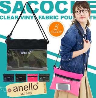 3c45d03ead [Re-Stock] Japan Anello Shoulder Messenger Sling Bag~ Original 100%  Authentic