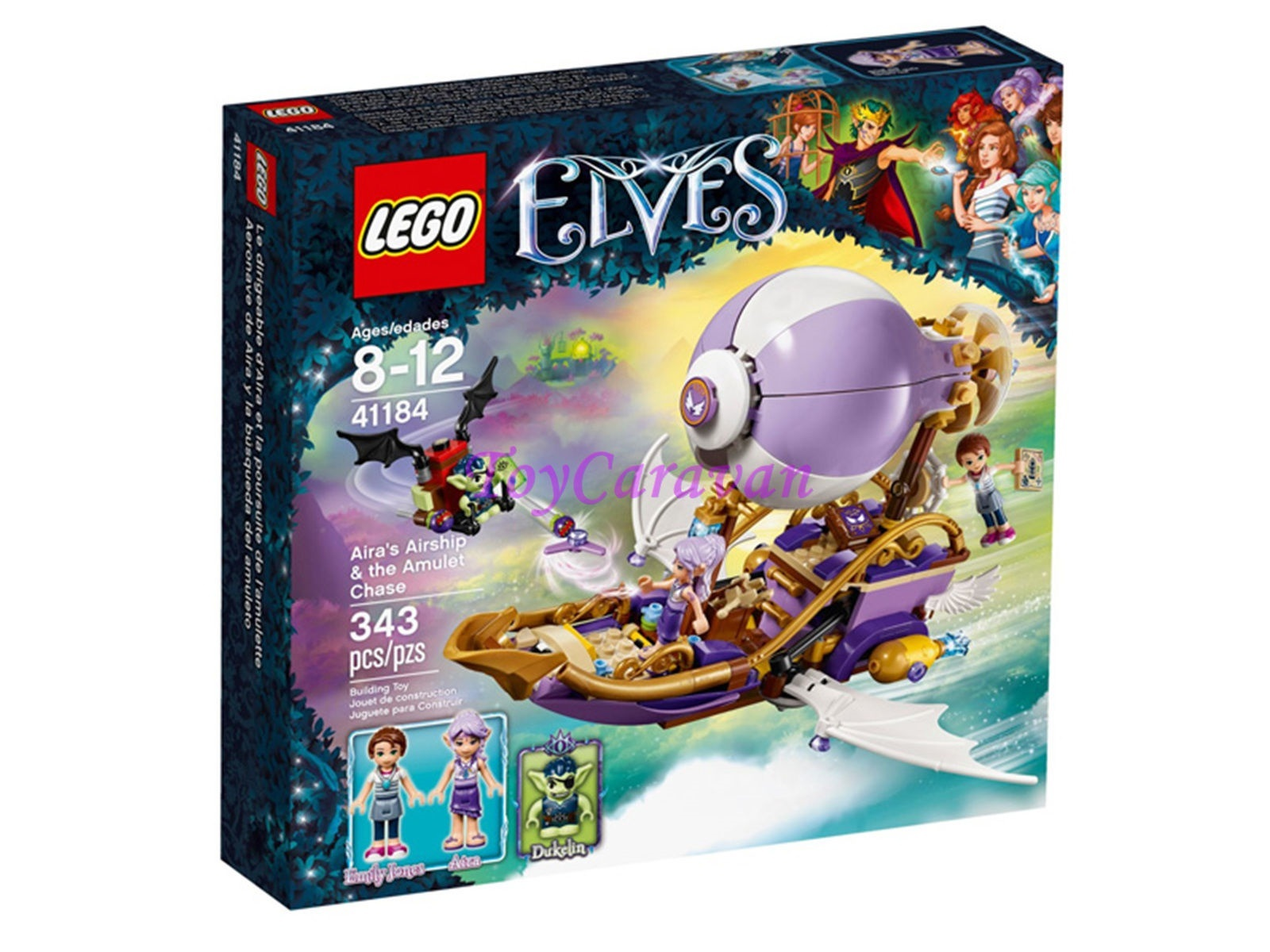 LEGO Lego Elves 41184 Airas Airship  the Amulet Chase MISB