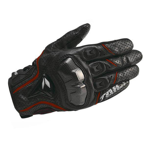 Classic RS-TAICHI RST390 Full Leather Perforated Carbon Fiber Breathable Racing Gloves
