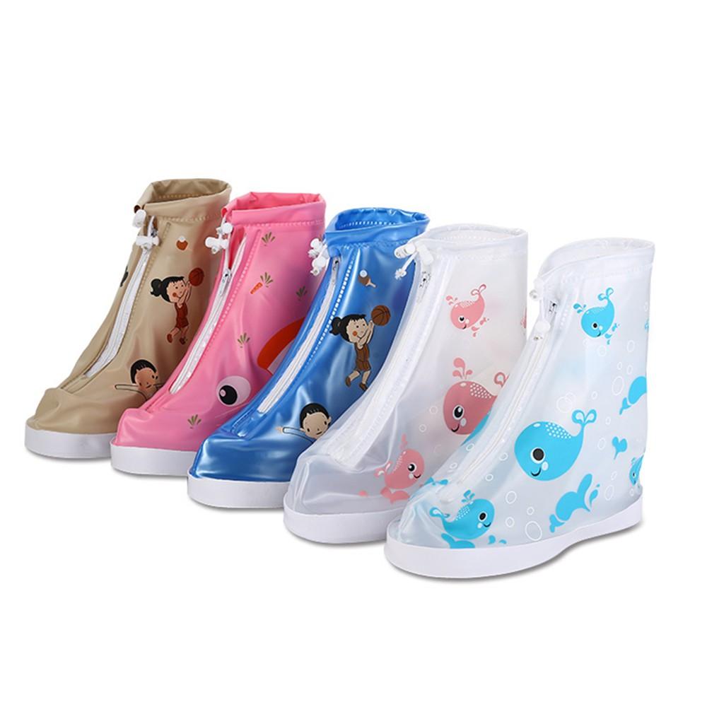 兒童防雨防沙雨鞋套幼兒園寶寶雨天防水防滑防雨鞋套