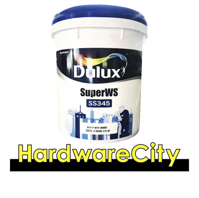 Dulux Super WS SS345 (Weathershield) Outdoor Wall Paint 18L - WHITE