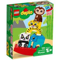樂高積木 LEGO《 LT10884 》Duplo 得寶系列 - 我的第一套動物疊疊樂