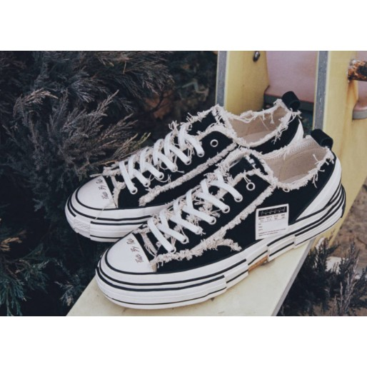 ASCE | xVESSEL 吳建豪 黑白解構帆布鞋