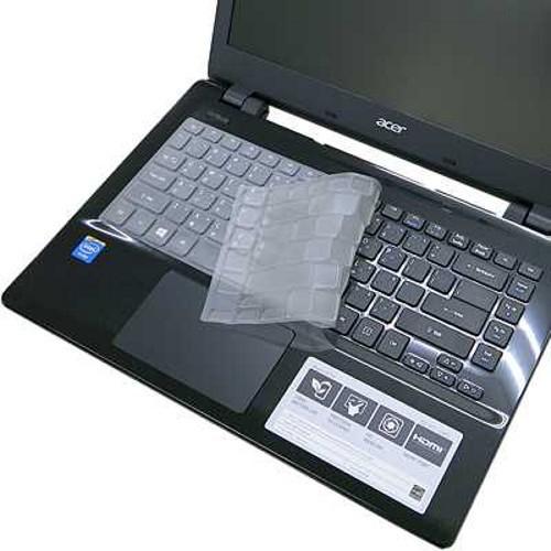 【EZstick】ACER Aspire E14 E5-411 E5-411G 奈米銀抗菌TPU 鍵盤保護膜 鍵盤膜