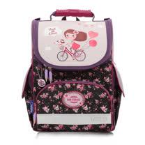 ★新品上市★Tiger Family 歐洲插畫家小貴族超輕量護脊書包-單車少女 (1~2年級)