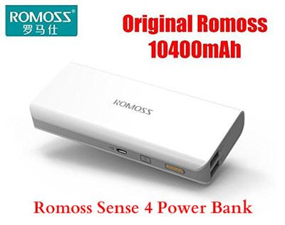 Romoss Powerbank Power bank Portable Charger Battery Powerbank 10000mAh / 10400mAh