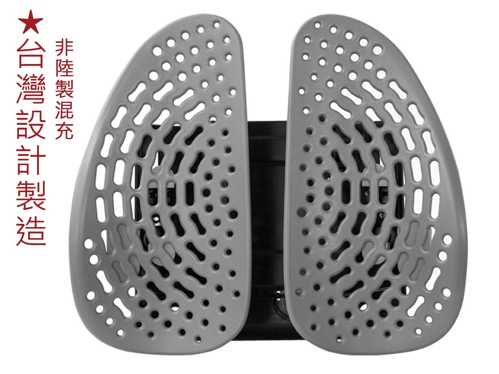安能背克 Energy back SOHO-BACK 舒活透氣雙背墊 脊椎護腰靠背 舒活減壓透氣坐椅腰靠墊