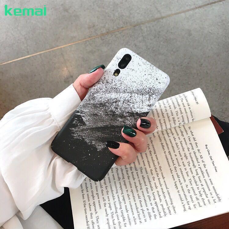 👍2018 VIVO X9/X9Plus TPU Case /X20  /Y66 /Y67 /Y71 Sand Painting TPU Fashion HardCover