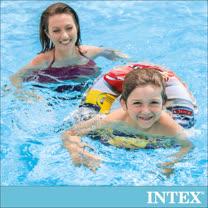 【INTEX】麥坤CARS-游泳圈51cm 適用3-6歲(58260)