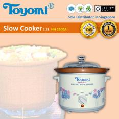 Toyomi HH 1500A High Heat Slow Cooker 1.2L
