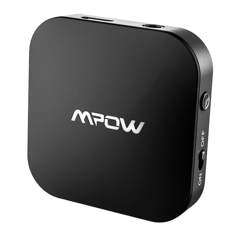 Original Mpow BH281A Wireless Bluetooth Transmitter Wireless Bluetooth 5.0 3.5mm Audio USB Adapter Dual Link For TV PC CD Player