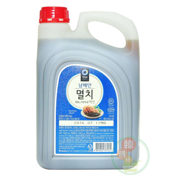 韓國DAESANG大象小魚乾魚露3kg【韓購網】
