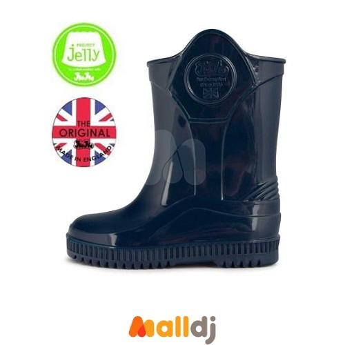 英國Project Jelly X JuJu 兒童雨鞋 - 深藍