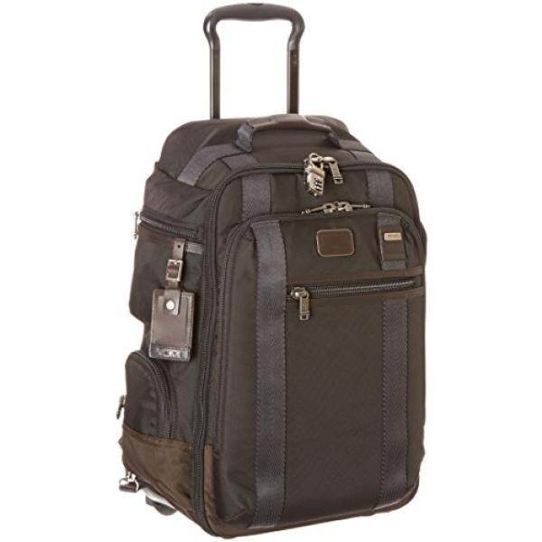Tumi Alpha Bravo Peterson Wheeled Backpack, Hickory, One Size
