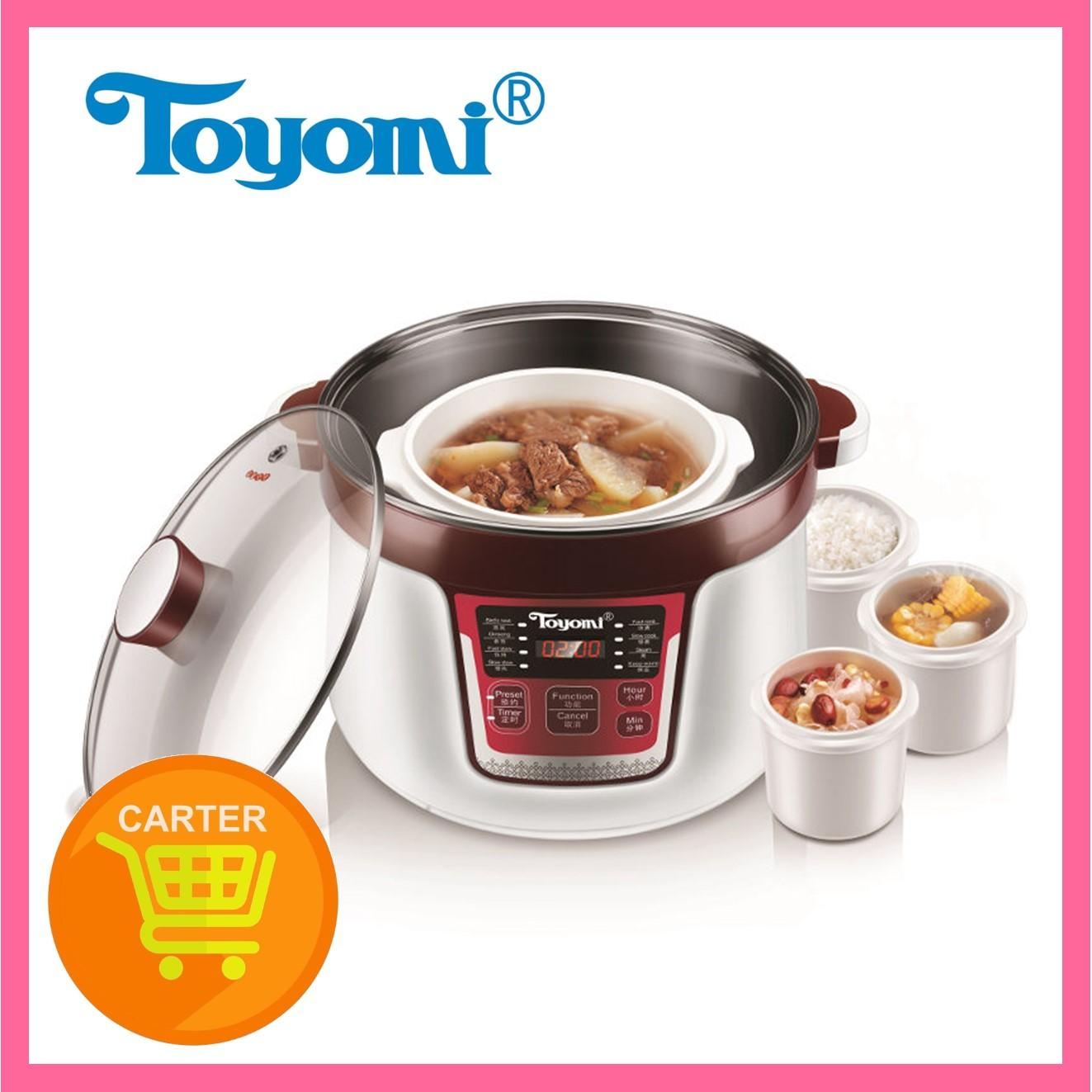 Toyomi SC 3289 Micro-Computer Control Slow Cookers