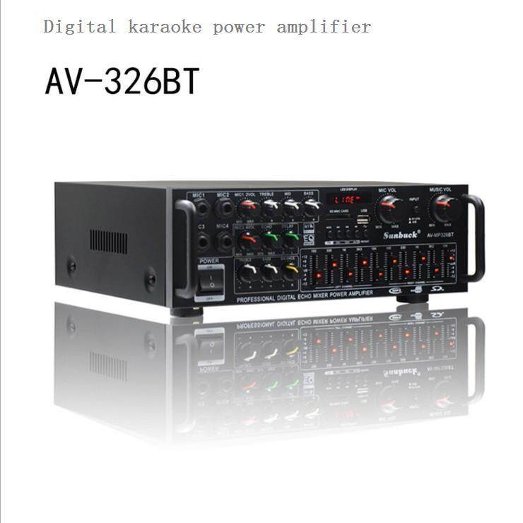 Professional digital karaoke power amplifier