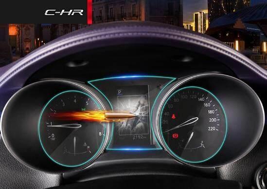 Toyota CHR ฟิมล์กันรอยเรือนไมล์รถ