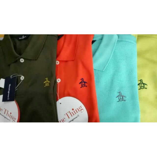 全新企鵝 日本製polo衫  質感超好 保證真品不懂仿冒 超值入手 高爾夫