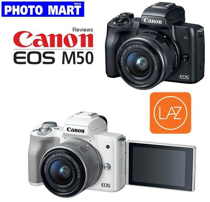 Canon EOS M50 Kit 15-45 mm.(รับประกัน 1ปี)