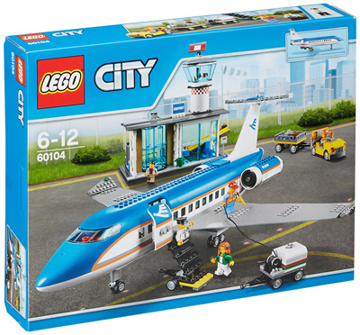 Lego (LEGO) City Airport Terminal and Passenger Aircraft 60104