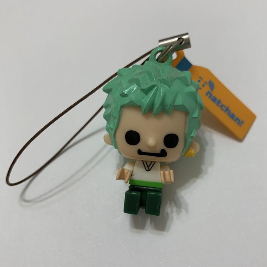 NATCHAN限量ONE PIECE 海賊王 航海王 樂高造型 吊飾 公仔 手機鑰匙圈 索隆