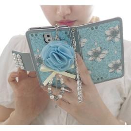 藍百合皮套 送掛繩送吊飾 三星 GALAXY S7/S6/Note4/Note5手機皮套 手機殼 手機保護套