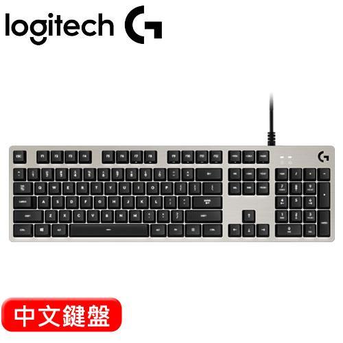 【網購獨享優惠】Logitech 羅技 G413 背光遊戲機械鍵盤 白 中文