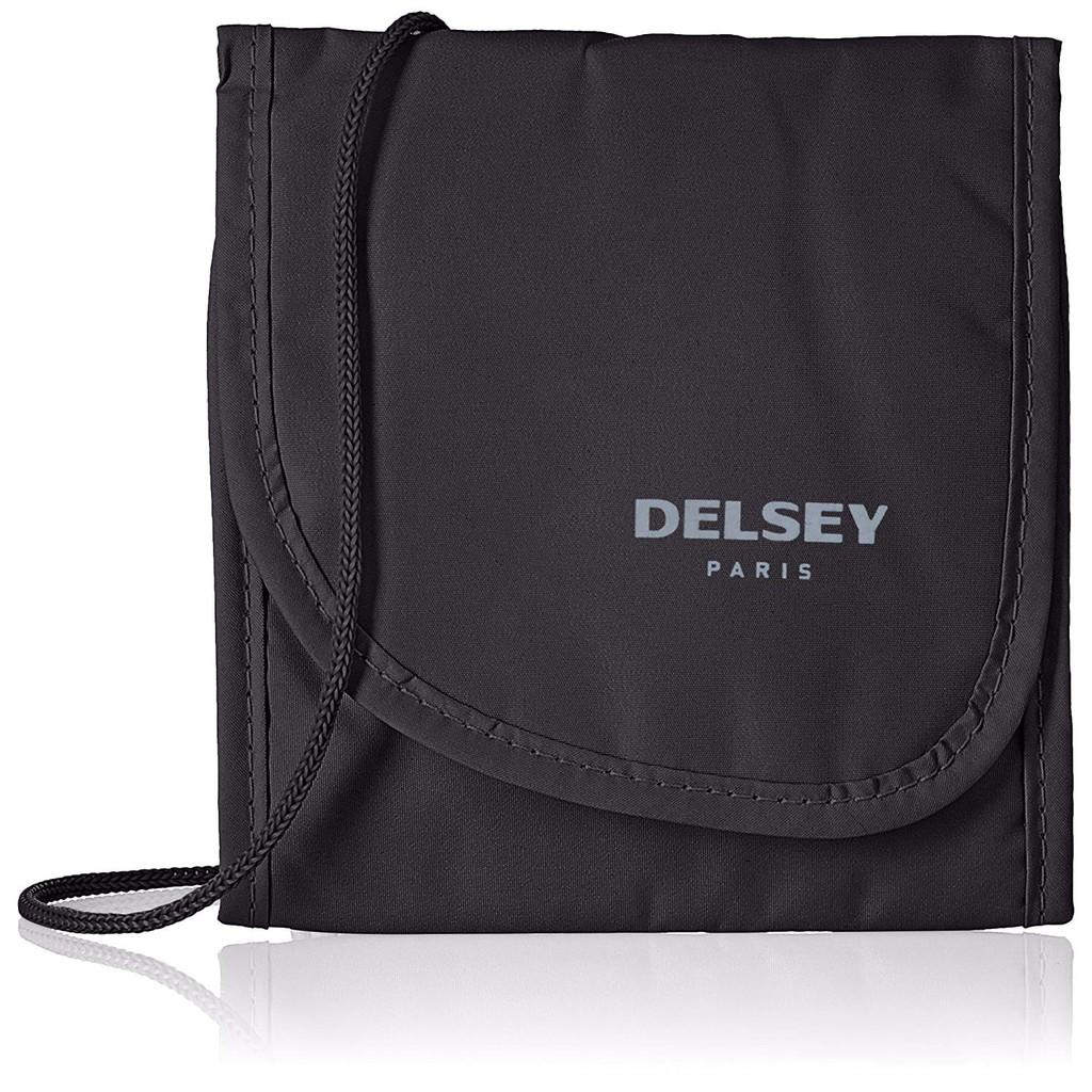 [INSTOCKS] Delsey Black Security Neck Bag