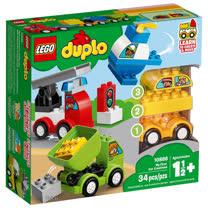 樂高積木 LEGO《 LT10886 》Duplo 得寶系列 - 我的第一套創意汽車組合