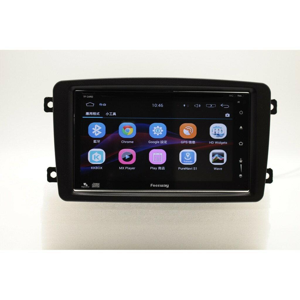 賓士W203(2000-04) 安卓版螢幕主機 WIFI.網路電視.藍芽電話 平板 上網