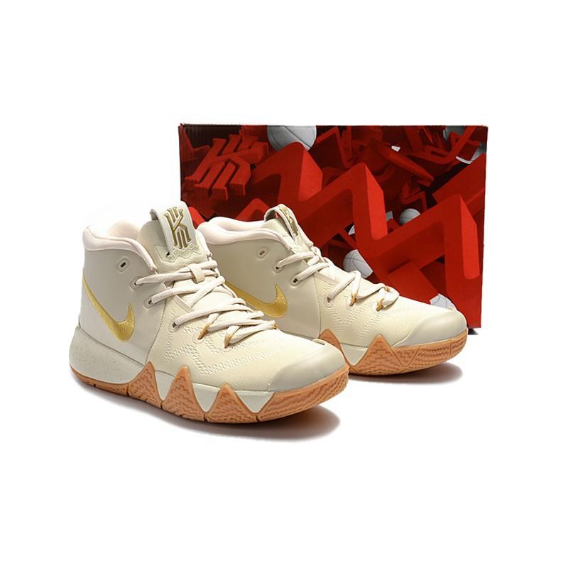 耐吉 男 NIKE Kyrie 4  Gray Rice 男鞋 厄文 籃球鞋 Irving 歐文 公園阿伯