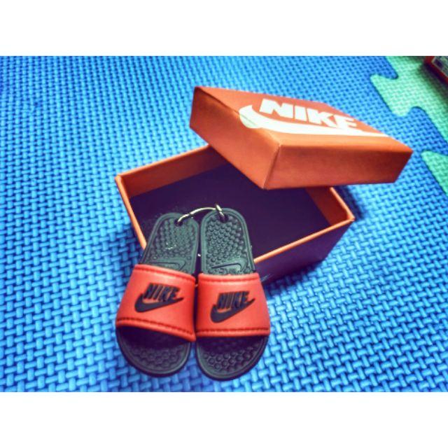 Nike/adidas立體拖鞋吊飾