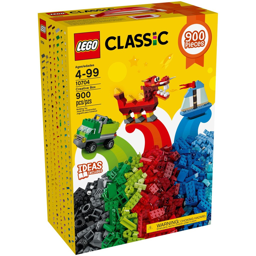 Fun2young ► 樂高 Lego 10704 Classic 創意 積木 900