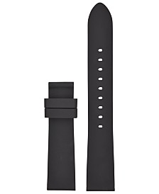 Michael Kors Access Women's Runway Black Silicone Smart Watch Strap