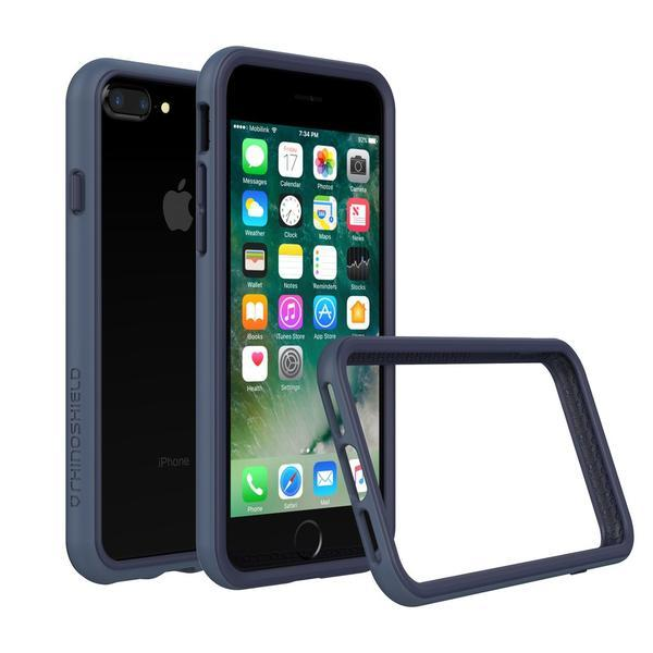 RhinoShield Mod Case for iPhone 8 Plus and 7 Plus, Crashguard + Backplate for iPhone 8 Plus and 7 Plus, RhinoShield Crashguard + Backplate for iPhone 8 Plus and 7 Plus, RhinoShield Mod for iPhone 8 Plus and 7 Plus