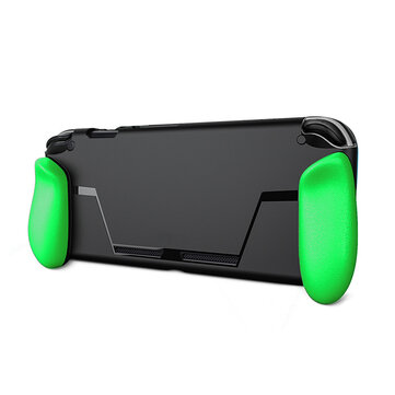 Ergonomic Grip Protective Case for NINTENDO SWITCH Game Console with Tempered Film Accessories
