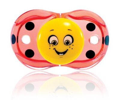 Direct from Germany -  Always clean pacifier (keep-it Ben): works for when he falls - Ladybug