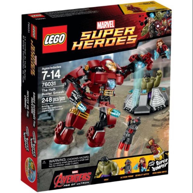樂高 LEGO 76031 鋼鐵人 浩克 綠巨人 Marvel iron man hulk