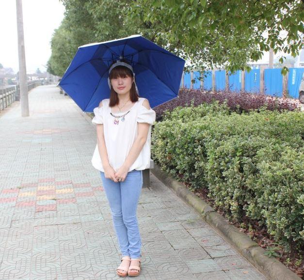 防風防雨釣魚傘帽 | 頭戴雨傘 |  防曬頭傘 | 雨傘帽  | 釣魚帽 | 遮陽傘 | 【愛家便宜購】