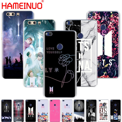 HAMEINUO BTS Bangtan Boys NEW LOGO Cover phone Case for huawei Ascend P7 P8 P9 P10 P20  lite plus pr