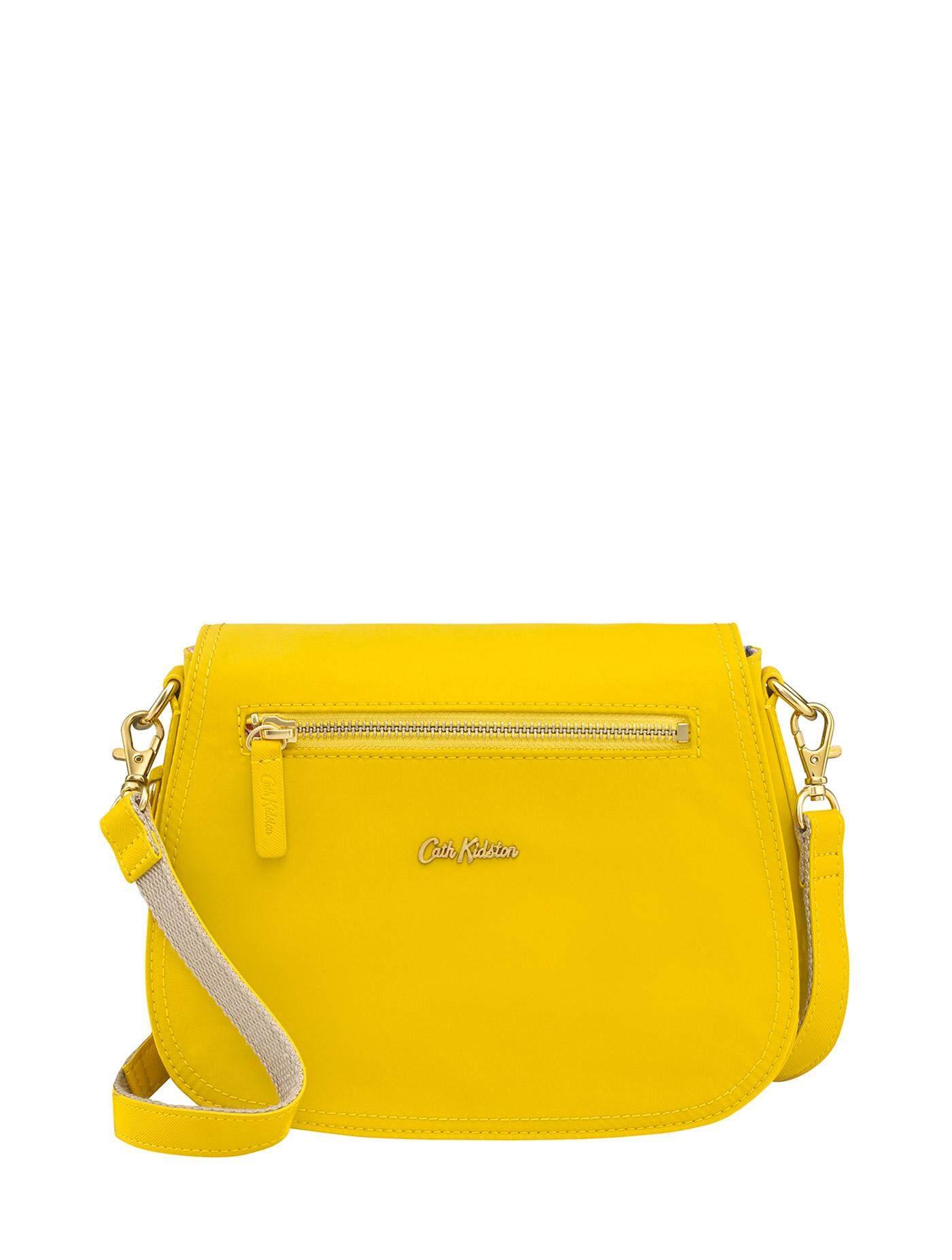 Cath Kidston กระเป๋าสะพาย รุ่น Bennett สีSolid Yellow