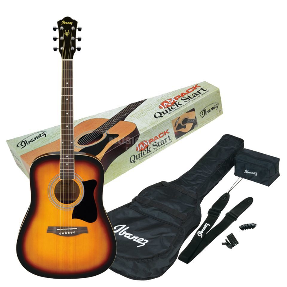 【公司貨】 送原廠配件組 Ibanez V50NJP D桶 41吋 民謠吉他 木吉他 雲杉 漸層色 公司貨一年保固