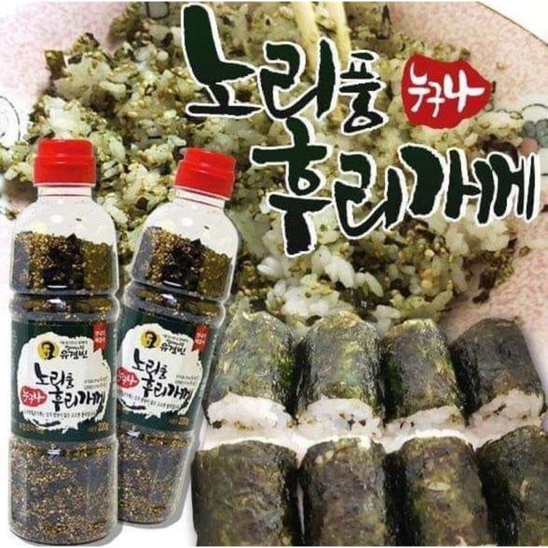 韓國市場正宗手工海苔芝麻香鬆220g
